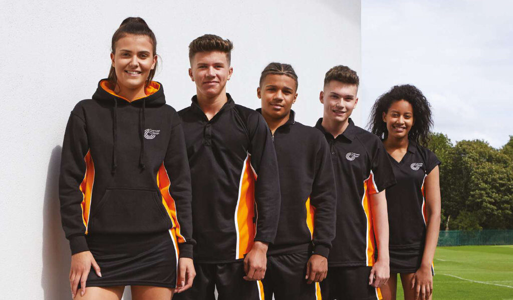 Spirit Range of Sportswear for schools and sports clubs