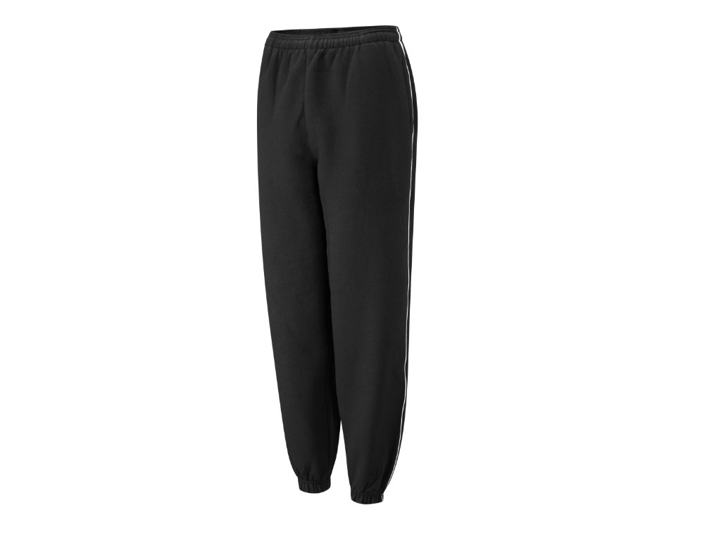 Spirit B400 Black White Fleece Jog Trousers