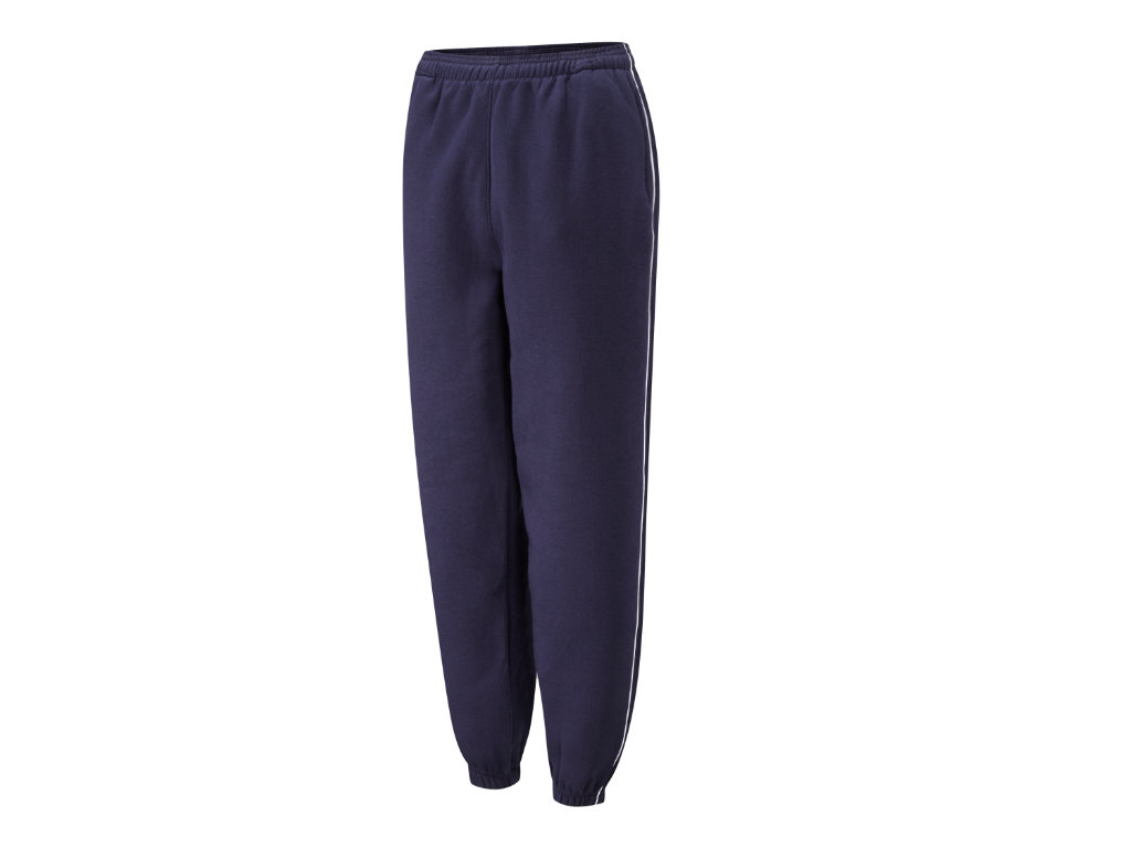 Spirit B400 Navy White Fleece Jog Trousers