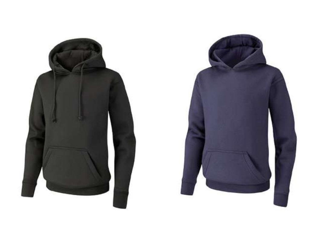 Spirit B500 range of hooded tops