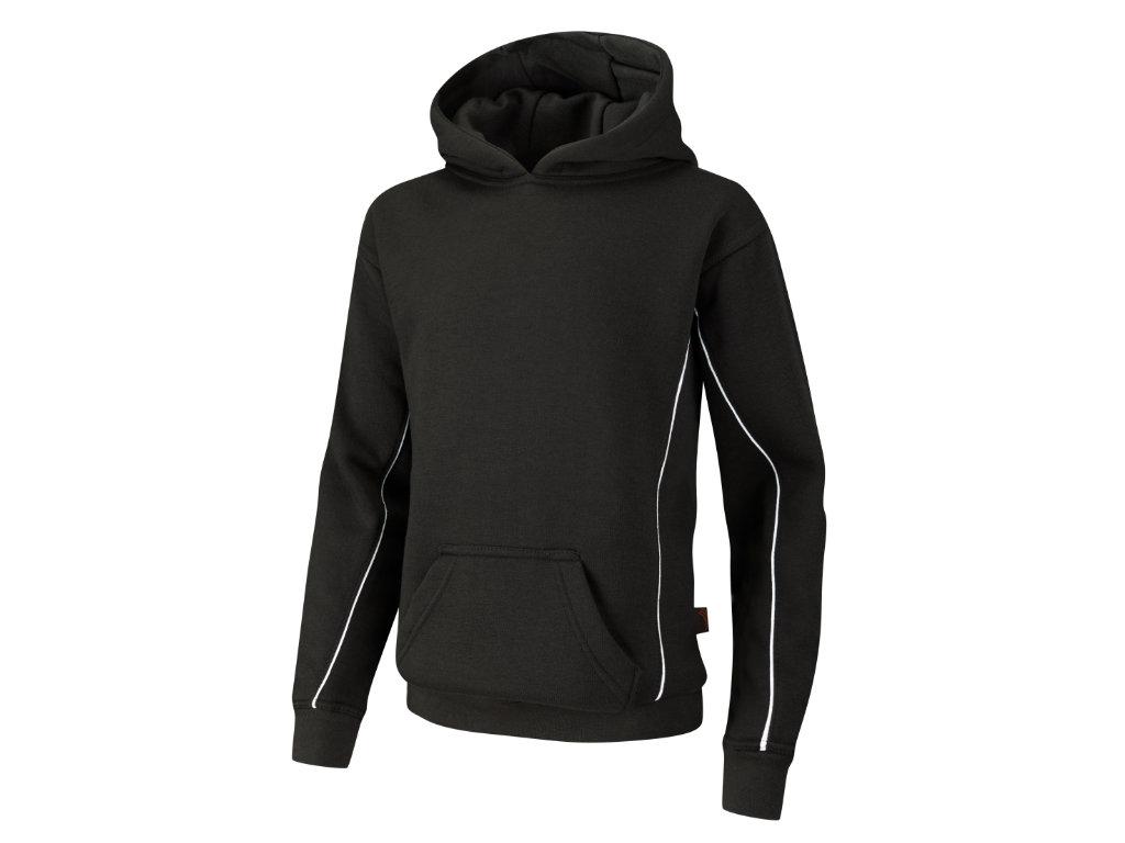 Spirit B550 Black/Black/White hooded top