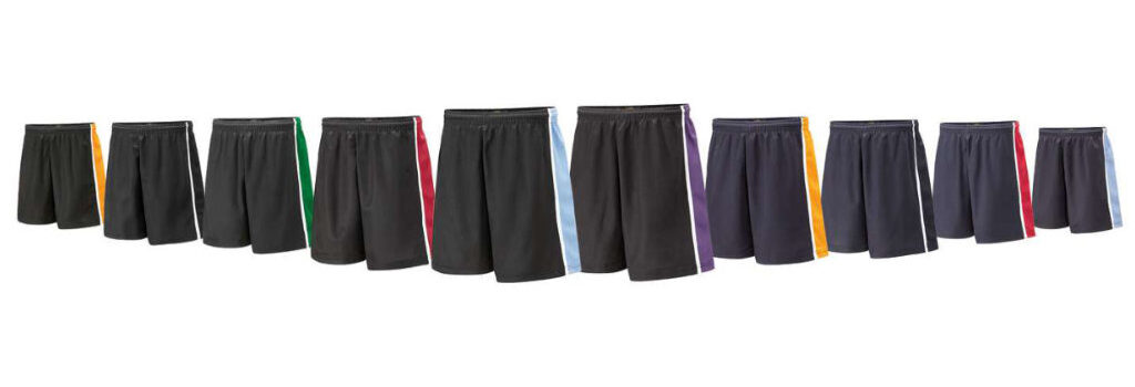 Spirit P231 Range of Sports Shorts