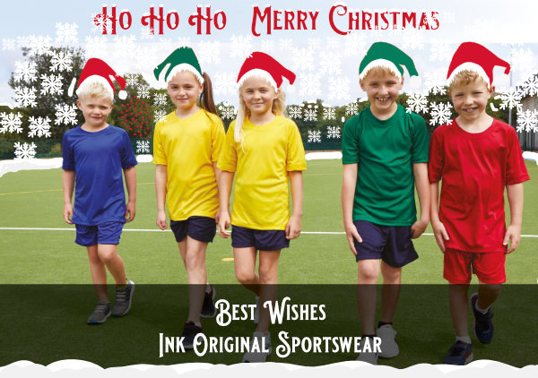Primary Sportswear with Christmas twist